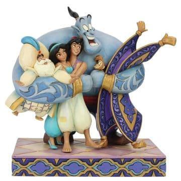 Disney Traditions 6005967 Group Hug! (AladdinFigurine)