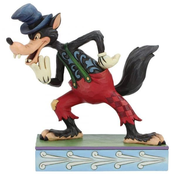 Disney Traditions 6005973 I'll Huff and I'll Puff! (Silly Symphony Big Bad Wolf)