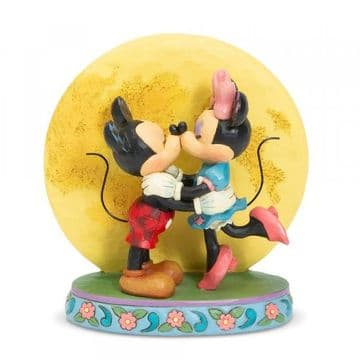 Disney Traditions 6006208 Magic and Moonlight (Mickey and Minnie with Moon)