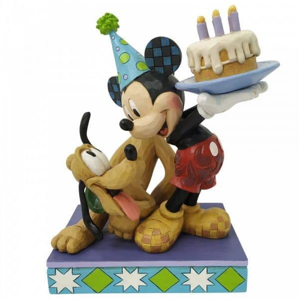 Disney Traditions 6007058 Pluto and Mickey MouseFigurine