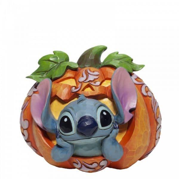 Disney Traditions 6007080 Stitch O' LanternFigurine