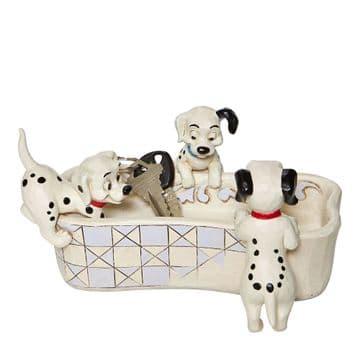 Disney Traditions 6008060 101 Dalmatians Bone Dish
