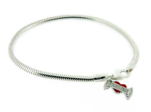 Frightlings Sterling Silver Snake Bracelet