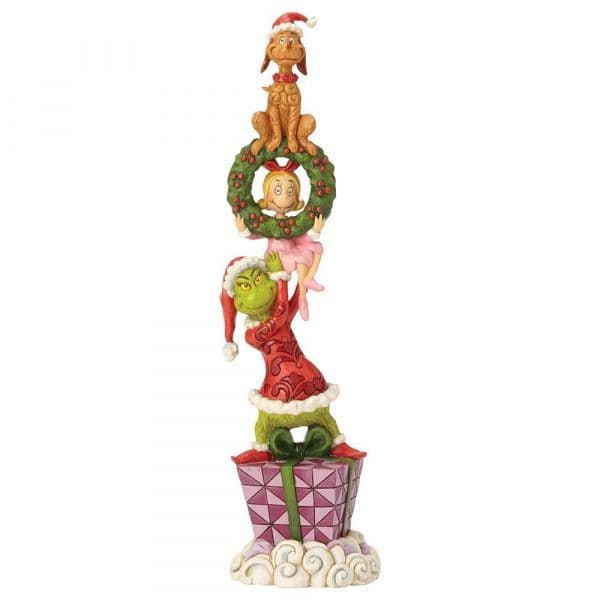 Grinch By Jim Shore 6002066 Stacked Grinch Characters Figurine