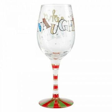 Lolita 6004434 Naughty..... Who Me Wine Glass New & Boxed