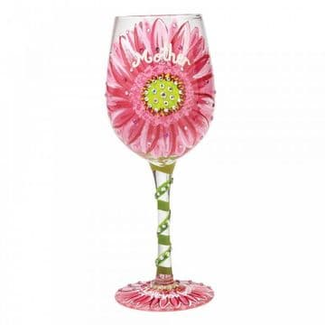 Lolita A28692 Mum's Love in Bloom Wine Glass