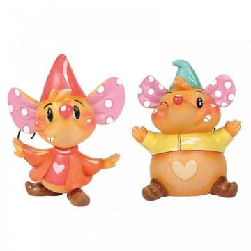 Miss Mindy Disney 6003770 Miss Mindy Jaq and Gus Gus Figurine