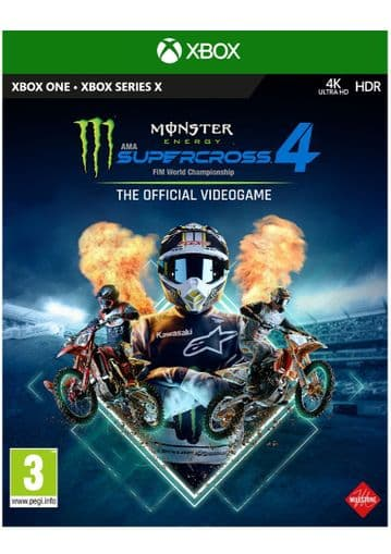 Monster Energy Supercross - The Official Videogame 4  Xbox One