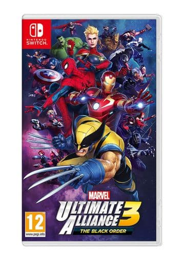 Nintendo Switch Marvel Ultimate Alliance 3 The Black Order (Switch) New