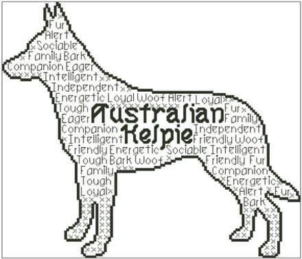 Australian Kelpie In Words