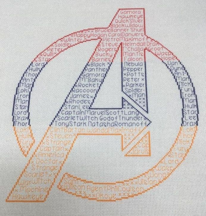 Avengers In Words