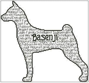 Basenji In Words