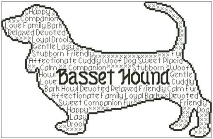 Basset Hound In Words