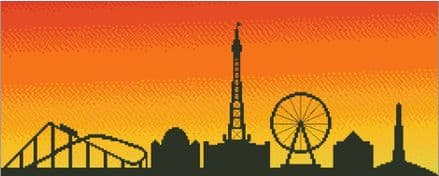 Blackpool at Sunset