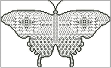 Blackwork Butterfly 2