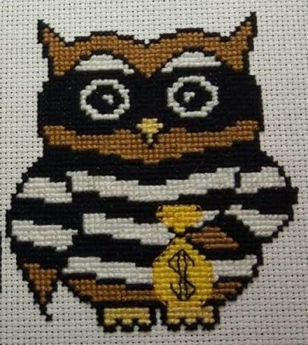 Burglar Ollie Owl