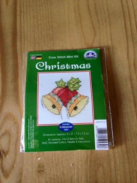 Christmas Bells DMC Mini Kit