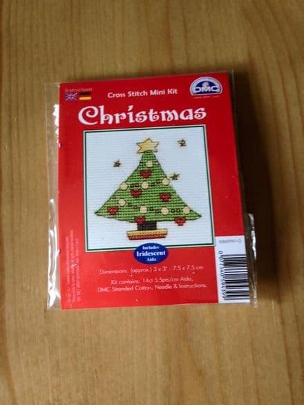 Christmas Tree DMC Mini Kit
