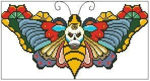 Day of the Dead Moth