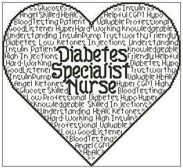 Diabetes Specialist Nurse In Words