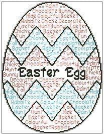 Easter Egg In Words