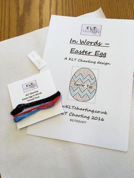 Easter Egg In Words Full Kit