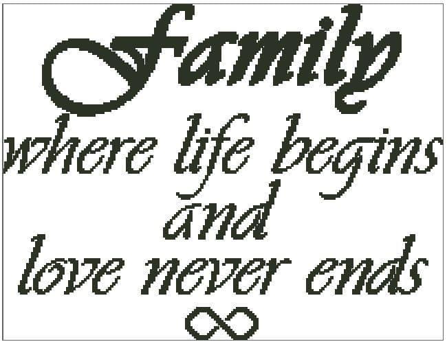 Family, Life Begins