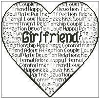 Girlfriend In Words