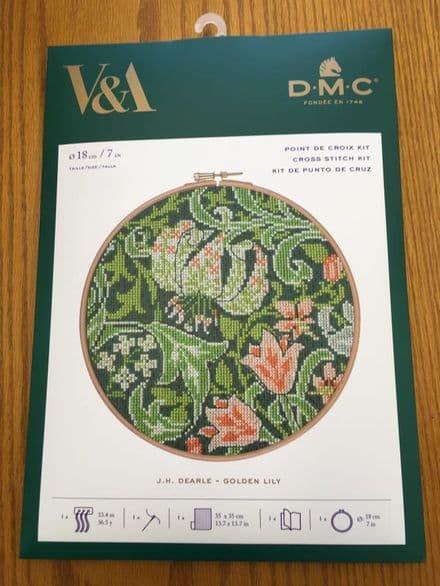 Golden Lily DMC Kit