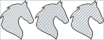 Horse Head Trio