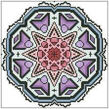 Icey Rose Mandala