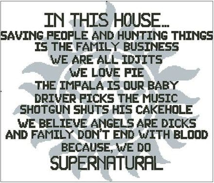 In This House - Supernatural