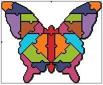 Jigsaw Butterfly