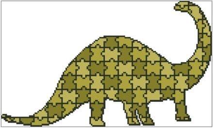 Jigsaw Diplodocus