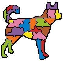 Jigsaw Dog