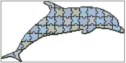 Jigsaw Dolphin