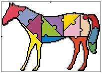 Jigsaw Horse