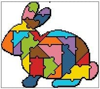 Jigsaw Rabbit