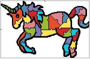 Jigsaw Unicorn