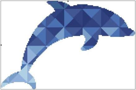 Kaleidoscope Dolphin