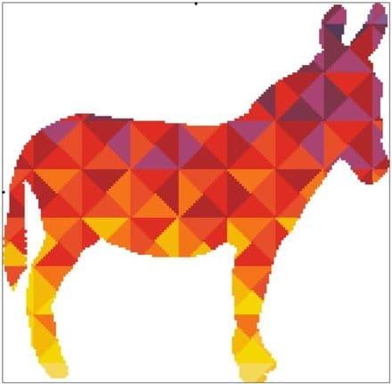 Kaleidoscope Donkey