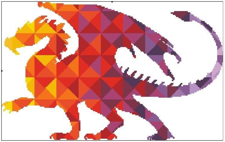 Kaleidoscope Dragon