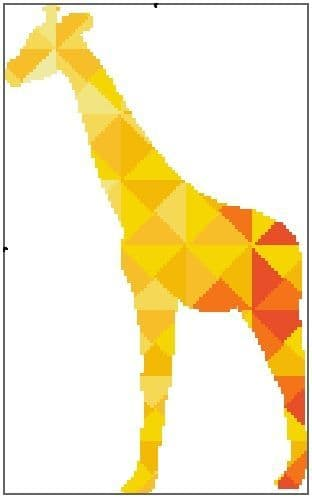 Kaleidoscope Giraffe