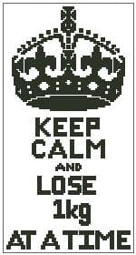 Keep Calm and Lose 1kg