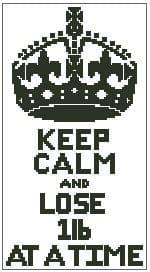 Keep Calm and Lose 1lb