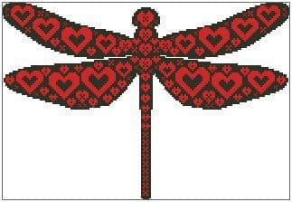 Love and Kisses Dragonfly