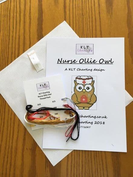 Nurse Ollie Owl Full Kit