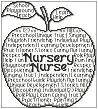Nursery Nurse In Words
