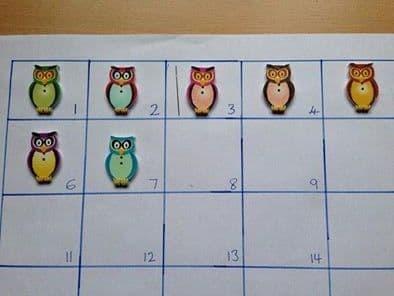 Owl (wooden) Needle Minder