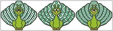 Peacock Trio